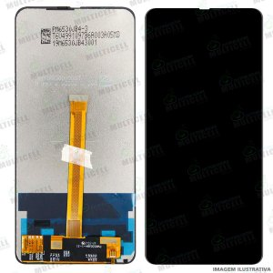 GABINETE FRONTAL DISPLAY LCD MODULO COMPLETO MOTOROLA XT2027 MOTO ONE HYPER  (QUALIDADE CHINA OLED)