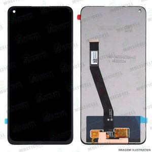 GABINETE FRONTAL DISPLAY LCD MODULO COMPLETO XIAOMI REDMI NOTE 9 (ORIGINAL CHINA IMPORTADO)