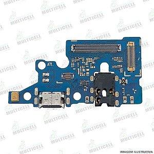 DOCK CONECTOR DE CARGA USB + MICROFONE SAMSUNG A715 GALAXY A71 1ªLINHA (QUALIDADE AAA)