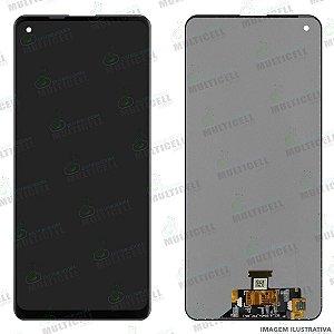 GABINETE FRONTAL DISPLAY LCD MODULO COMPLETO SAMSUNG A217 GALAXY A21S (ORIGINAL CHINA)