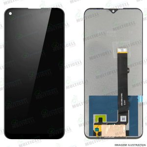 GABINETE FRONTAL DISPLAY LCD MODULO COMPLETO LG K61 LMQ630EAW (ORIGINAL CHINA)