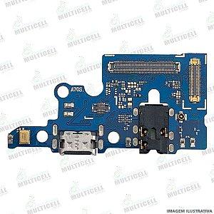 DOCK CONECTOR DE CARGA USB + MICROFONE SAMSUNG A707 GALAXY A70S 1ªLINHA (QUALIDADE AAA)