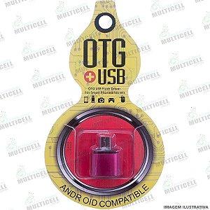 ADAPTADOR OTG USB FÊMEA P/ MICRO USB (V8)