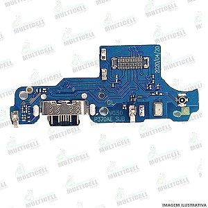 FLEX DOCK CONECTOR DE CARGA MICROFONE MOTOROLA XT2083 MOTO G9 PLAY 1ªLINHA (QUALIDADE AAA)