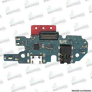 FLEX DOCK CONECTOR DE CARGA MICROFONE SAMSUNG A105 GALAXY A10 ORIGINAL