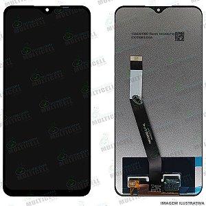 GABINETE FRONTAL DISPLAY LCD MODULO COMPLETO XIAOMI REDMI 9 M2004J19G ORIGINAL (CHINA)