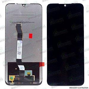 GABINETE FRONTAL DISPLAY LCD MODULO COMPLETO XIAOMI REDMI NOTE 8T PRETO 1ªLINHA (QUALIDADE AAA)
