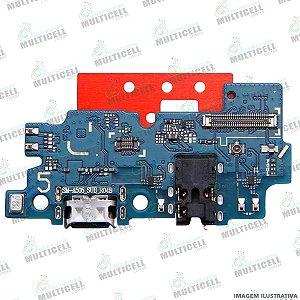 DOCK CONECTOR DE CARGA USB E MICROFONE SAMSUNG A505 GALAXY A50 ORIGINAL