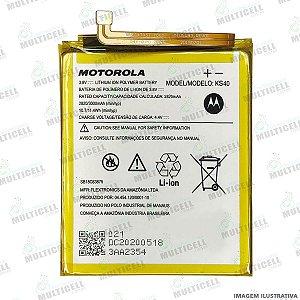 BATERIA MOTOROLA KS40 KS-40 XT2029 MOTO E6 PLAY ORIGINAL