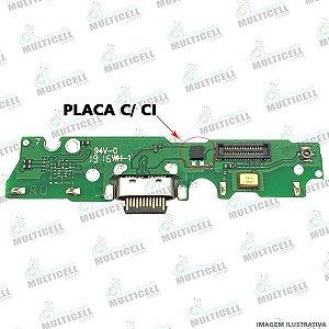 FLEX PLACA DOCK CONECTOR DE CARGA MOTOROLA XT1952 MOTO G7 PLAY 1ª LINHA (COM CI)