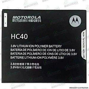 BATERIA MOTOROLA HC40 HC 40 HC-40 XT1721 XT1723 XT1726 MOTO C 1ª LINHA (QUALIDADE AAA)
