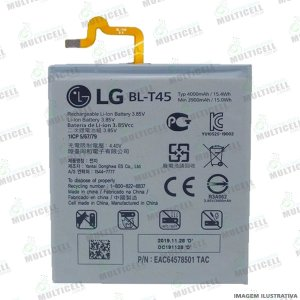 BATERIA LG BLT45 BL T45 BL-T45 LG X540 K50s 1ª LINHA (QUALIDADE AAA)