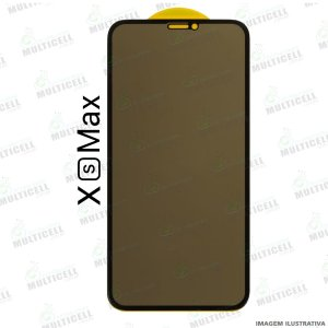 PELÍCULA DE VIDRO 3D PRIVACY APLLE IPHONE XS MAX / 11 PRO MAX
