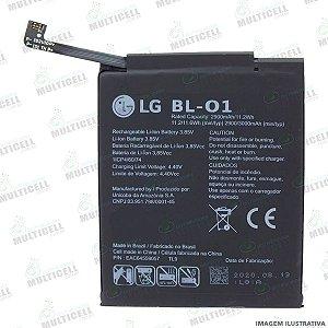 BATERIA LG X120 BL01 BL-01 BL 01 LG K8 + / K8 PLUS 1ªLINHA (QUALIDADE AAA)