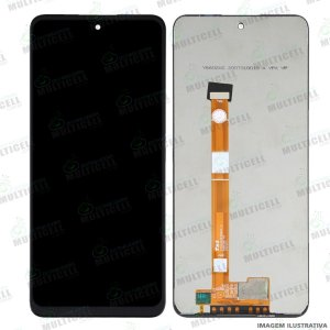 GABINETE FRONTAL DISPLAY LCD MODULO COMPLETO LG K42 / K52 / K62 ORIGINAL CHINA