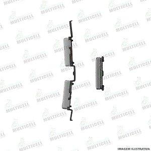 BOTÃO EXTERNO POWER E VOLUME SAMSUNG J510 J5 METAL / J710 J7 METAL CINZA 1ªLINHA (QUALIDADE AAA)