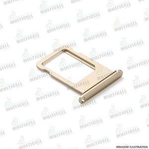 GAVETA DE CHIP SIM CARD APPLE IPHONE 7 IPHONE 7G DOURADO GOLD ORIGINAL