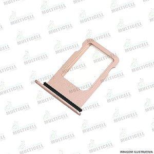GAVETA DE CHIP SIM CARD APPLE IPHONE 7 IPHONE 7G ROSE GOLD ORIGINAL