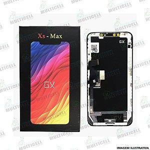 GABINETE FRONTAL DISPLAY LCD MODULO COMPLETO APPLE A1921 A2101 A2102 IPHONE XS MAX (1ª LINHA GX HARD AMOLED)