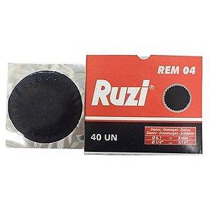 Remendo a frio REM 04 caixa com 40 peças de 080mm - Ruzi