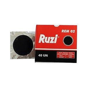 Remendo a frio REM 02 caixa com 40 peças de 050mm - Ruzi