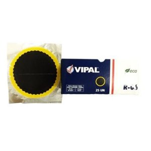Remendo a frio 06  V 120 mm - cx c/ 25 pçs - Vipal
