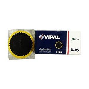 Remendo a frio 05  V 100 mm - cx c/ 25 pçs - Vipal