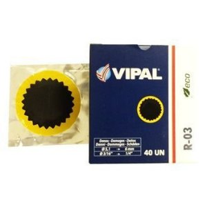 Remendo a frio 03  V 060 mm - cx c/ 40 pçs - Vipal