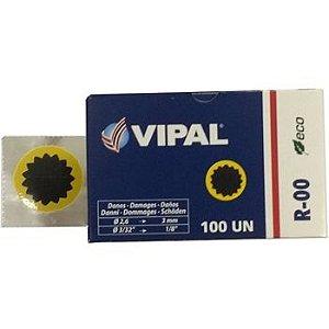 Remendo a frio 00  V 030 mm - cx c/ 100 pçs - Vipal
