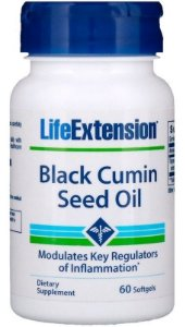 Black Cumin Seed Oil Cuminho Life Extension 60 Softgels