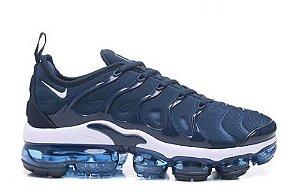 Tênis Nike Air Vapormax Plus - Branco e Azul