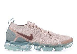 Tênis Nike Air Max Vapormax 2 Flyknit 2018 - Rosa e Azul