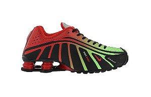 Tênis Nike Shox R4 - Vermelho e Verde