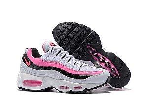 Tênis Nike Air Max 95 - Branco e Rosa