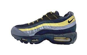 Tênis Nike Air Max 95 - Dourado e Azul