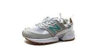 Tênis New Balance 574 - Branco e Verde