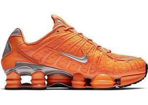 Tênis Nike Shox Tl 12 molas Neymar Jnr - Laranja