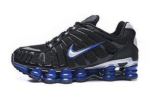 Tênis Nike Shox Tl 12 molas Neymar Jnr - Preto e Azul