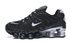 Tênis Nike Shox Tl 12 molas Neymar Jnr - Preto e Cinza