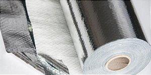 Manta térmica Subcobertura Face Única - 1m x 10m - COBERFOIL