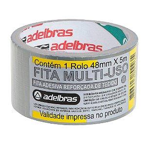 Fita Multiuso Silver Tape Prata 48mm x 20m