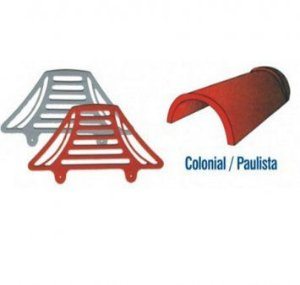 Passarinheira Individual Colonial/Paulista cerâmica - 10 metros