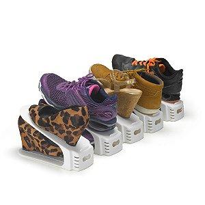 Conjunto com 5 Organizadores De Sapatos Double - Arthi