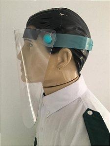 kit 2 Máscara Para Proteção Facial Viseira Plástica