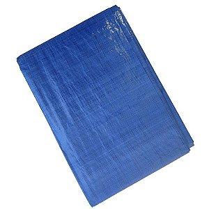 Lona Carreteiro Polietileno Azul 5x3M 75g/m² - Starfer