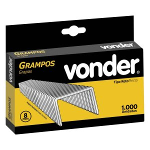 Grampo 8mm Caixa com 1000 Grampos - VONDER