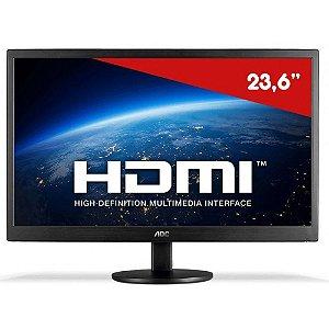 "Monitor 23,6"" AOC LED M2470SWH2 HDMI 1080p Full HD"