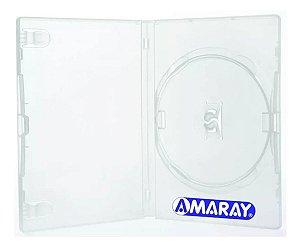Box para DVD Padrão Transparente - 50 Peças