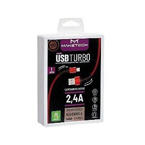 CABO CARREGADOR MAKETECH ANDROID USB CA-174