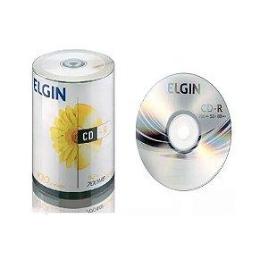 CD-R 700MB 52X ELGIN COM 100 UNIDADES